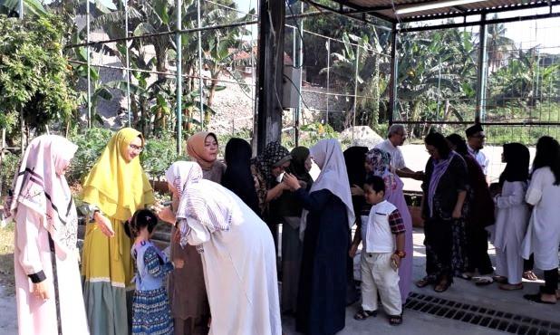 Silaturahmi Idul Fitri Umat Katolik Bernadet di Berbagai Rukun Tetangga