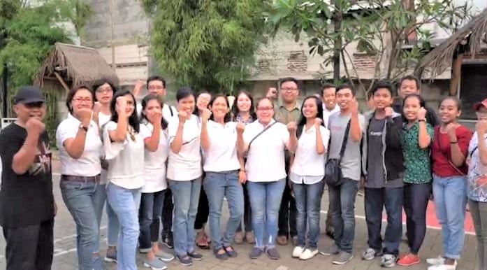 Sie HAAK Apresiasi Antusiasme Umat Bernadet dalam Gerakan Jaga Gereja