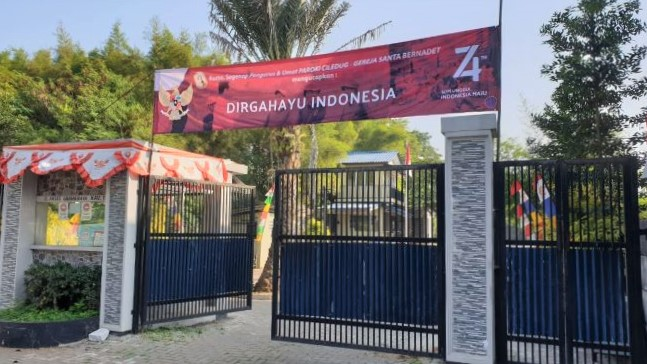 Paroki Ciledug Mengucapkan Selamat Hari Raya Idul Adha dan Dirgahayu Indonesia