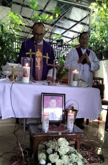 Pak Mateus Suparto, Katekis Andal Itu Telah Berpulang ke Rumah  Bapa