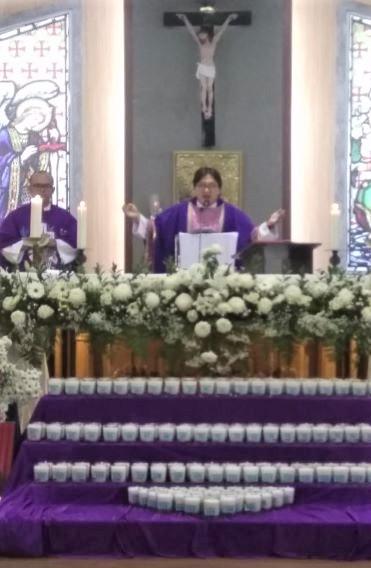 Legio Maria Adakan Misa Arwah di Gereja Santa Bernadet. Tak Usah Cemas!