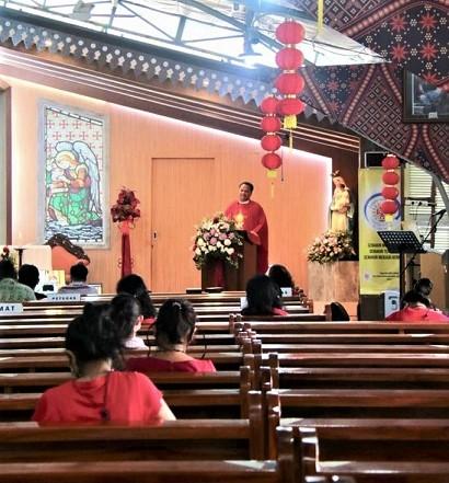 Dalam Misa Imlek 2021 Kita Diajak Bersyukur, Membuka Hati dan Telinga