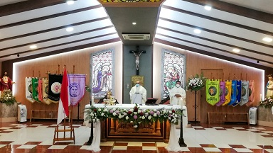 HUT Ke-31 Gereja St Bernadet: Aku Semakin Menggereja dan Menjadi Berkat