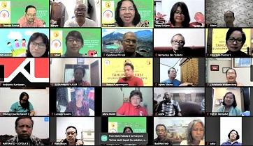 Tim SKKS Lakukan Sosialisasi APP Tahun 2021 dengan Melibatkan OMK